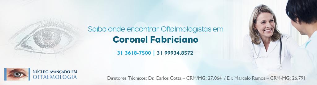Saiba onde encontrar um oftalmologista em Coronel Fabriciano